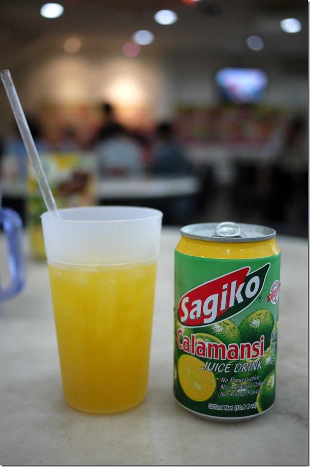 Sagiko Calamansi juice S$1.20 or A$1.00