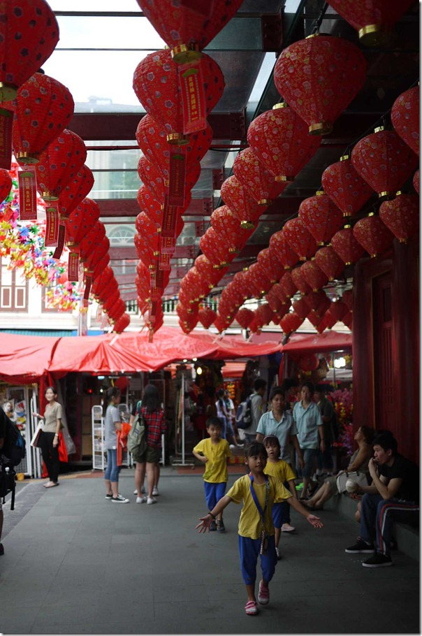 Chinese red laterns in Chinatown