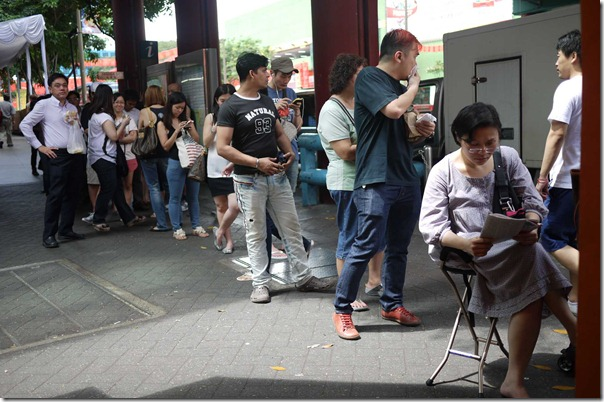 Queue for Lim Chee Guan sliced pork