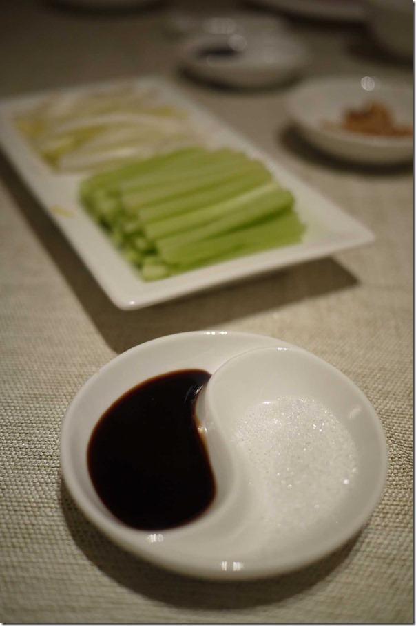 Yin & Yang ~ Hoisin sauce and sugar for Peking duck