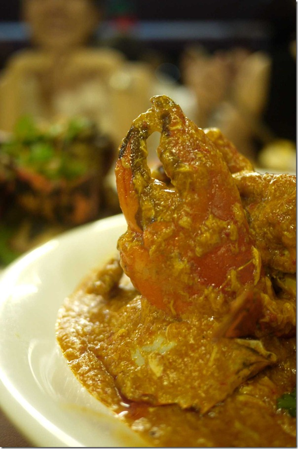 Chilli crab (Market price between S$24 - S$31 per kg or A$20 - A$26 per kg)