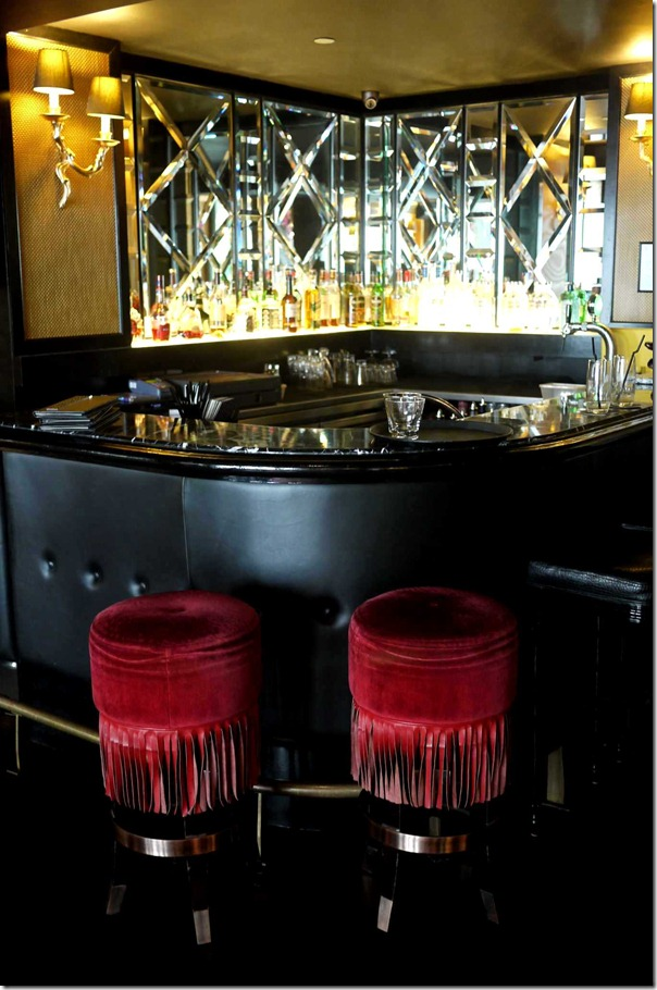 One of numerous cocktail bars at The Scarlet, Singapore