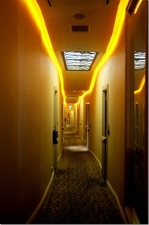 Corridors at The Scarlet, Singapore