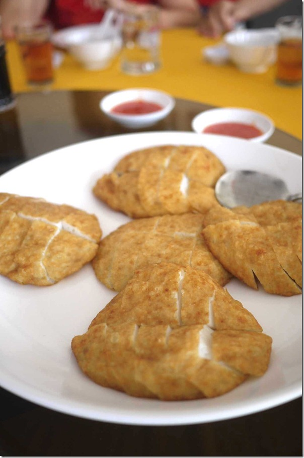House specialty: Deep-fried fish cakes