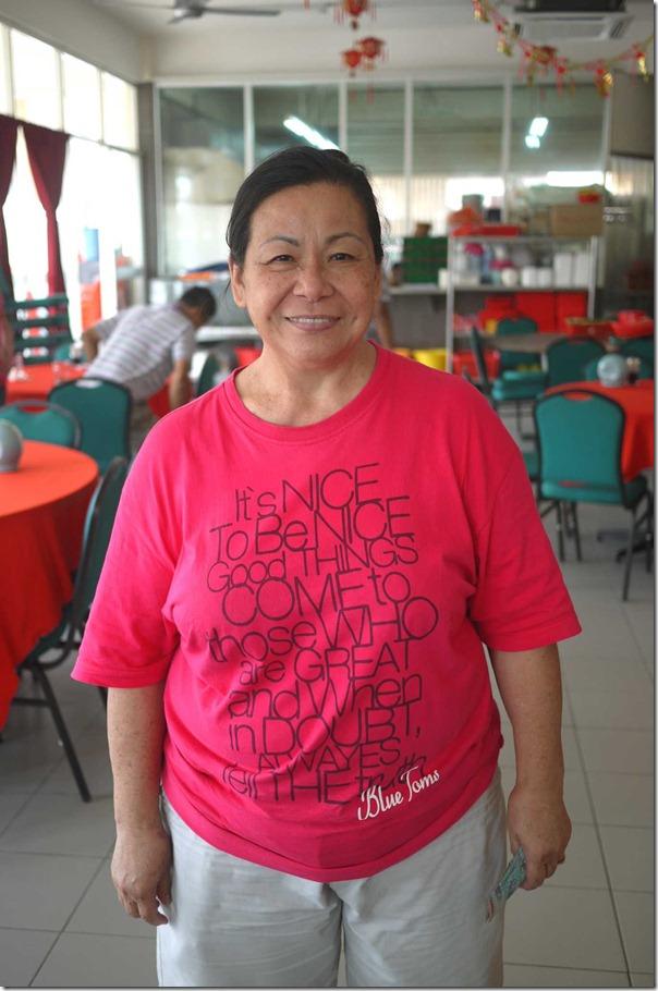 "Madam YK Koo aka ""Fei Jay"" - the proprietor of Restoran Fei Jay, Kuala Lumpur"