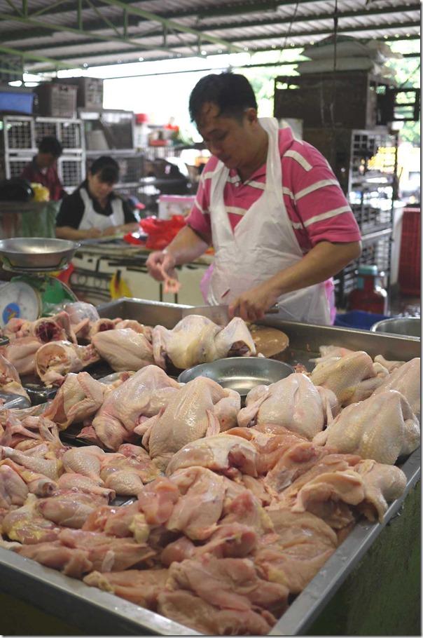 Fresh chickens