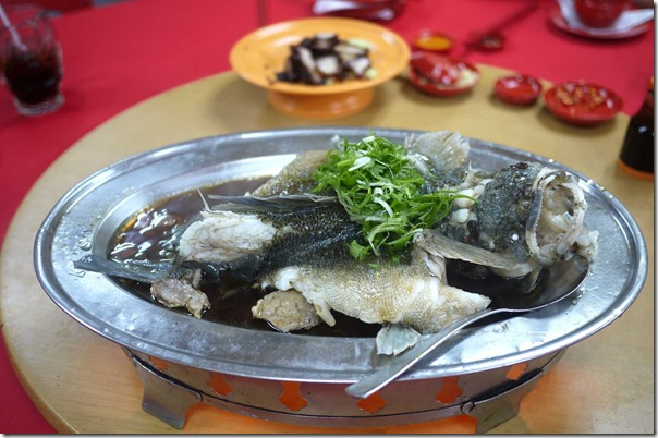 Steamed Soon Hock or Marble Goby