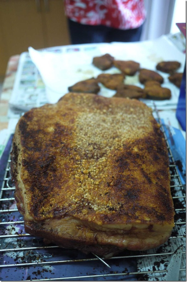 5kg slab of Chinese style roasted pork belly