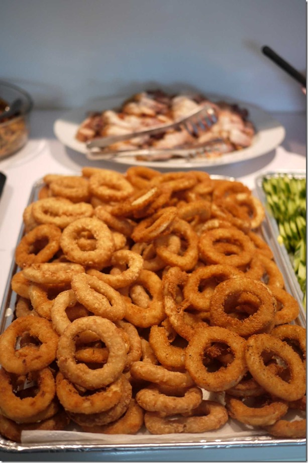 Kids' delight: Deep fried onion rings