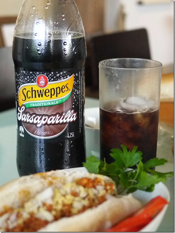 Schweppes Sarsaparilla as a substitute for A & W Rootbeer