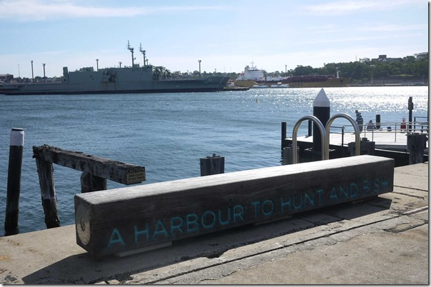 """Jones Bay Wharf, Pyrmont ~ """"A harbour to hunt and fish"""""""