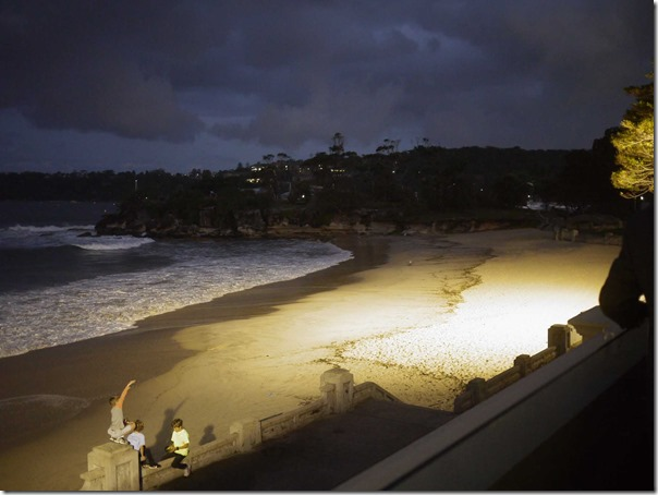 Twilight at Balmoral beach, Mosman