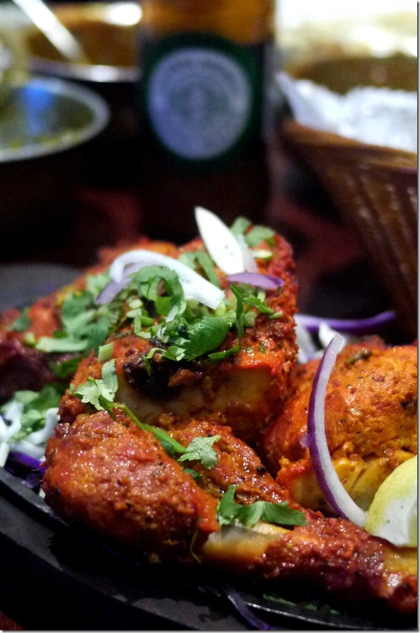 Half tandoori chicken $8.90