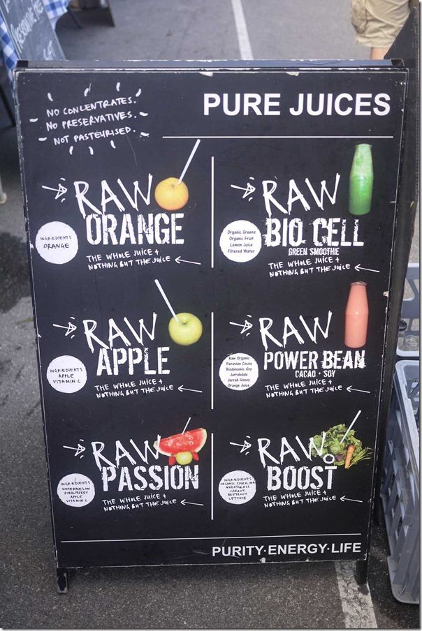 RAW pure juices