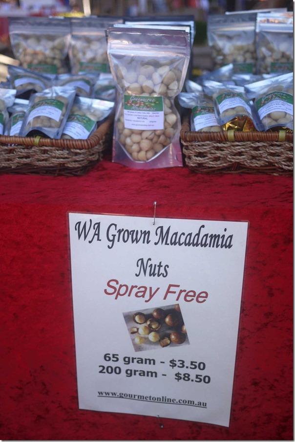 Western Australia's macadamia nuts
