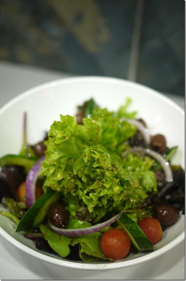 Garden salad $6.50