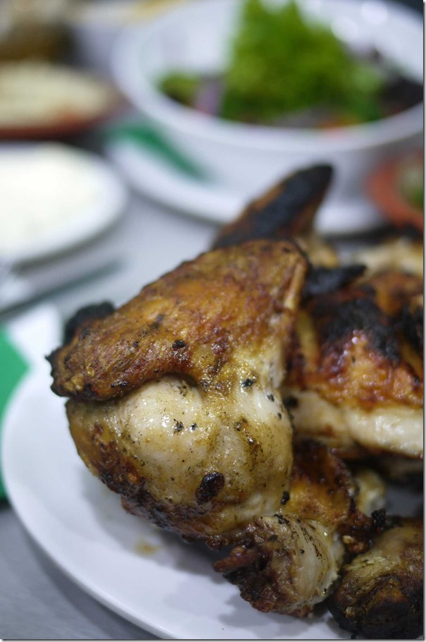 El Jannah charcoal chicken - drumette ($19.90 for whole chicken)