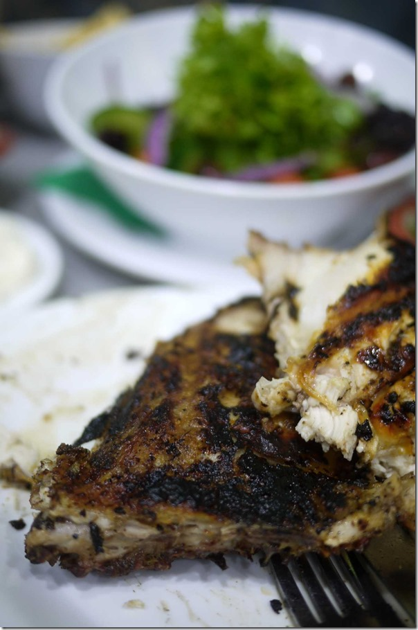 El Jannah charcoal chicken - chicken thigh ($19.90 for whole chicken)