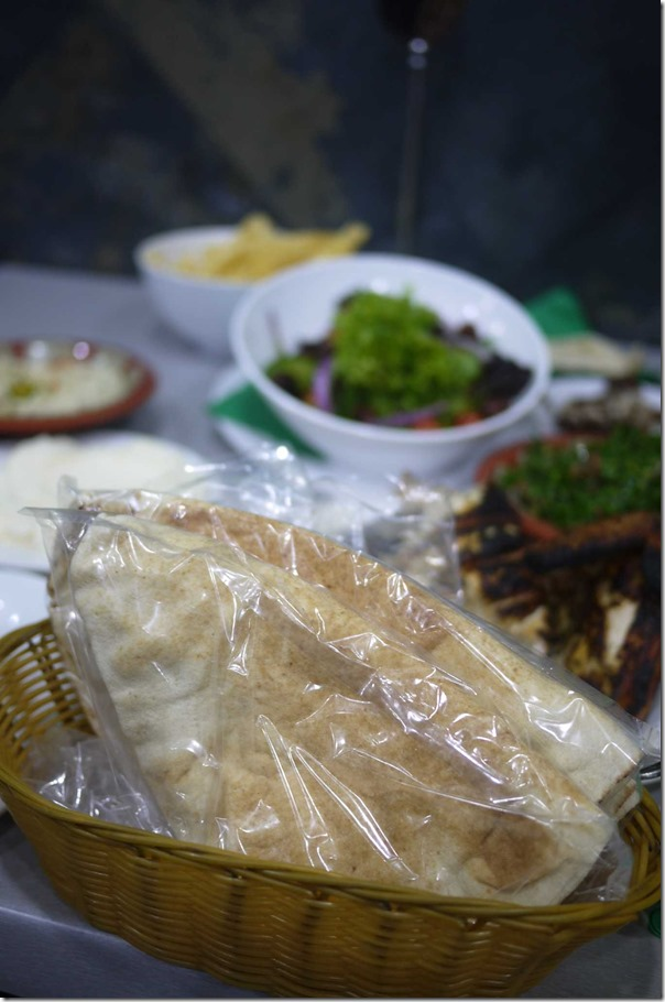 Lebanese bread (Complimentary with charcoal chicken)