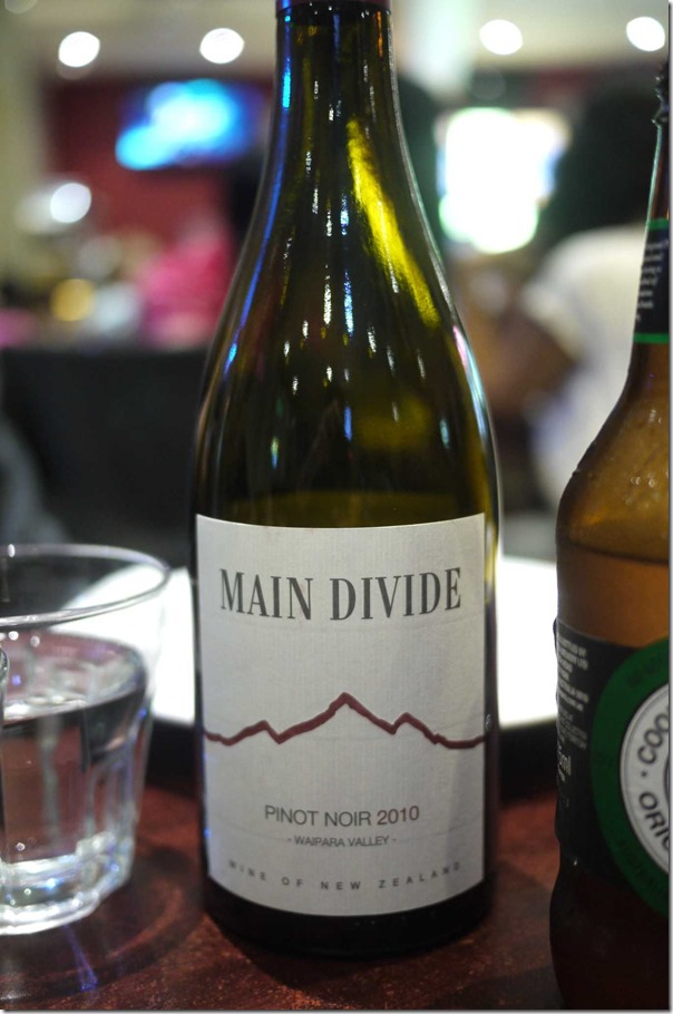 2010 Main Divide Pinot Noir