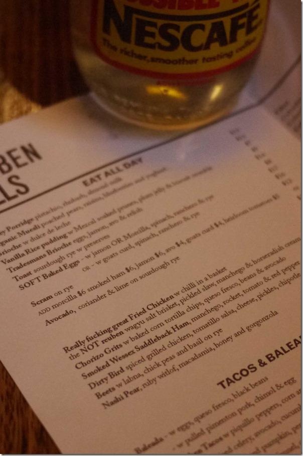 The menu, Reuben Hills