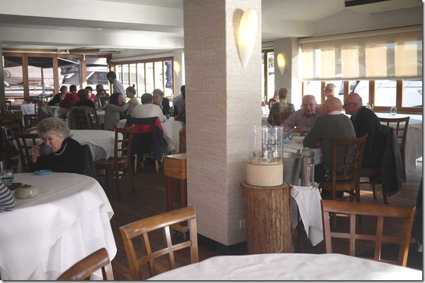 Dining room at Ormeggio at The Spit, Mosman