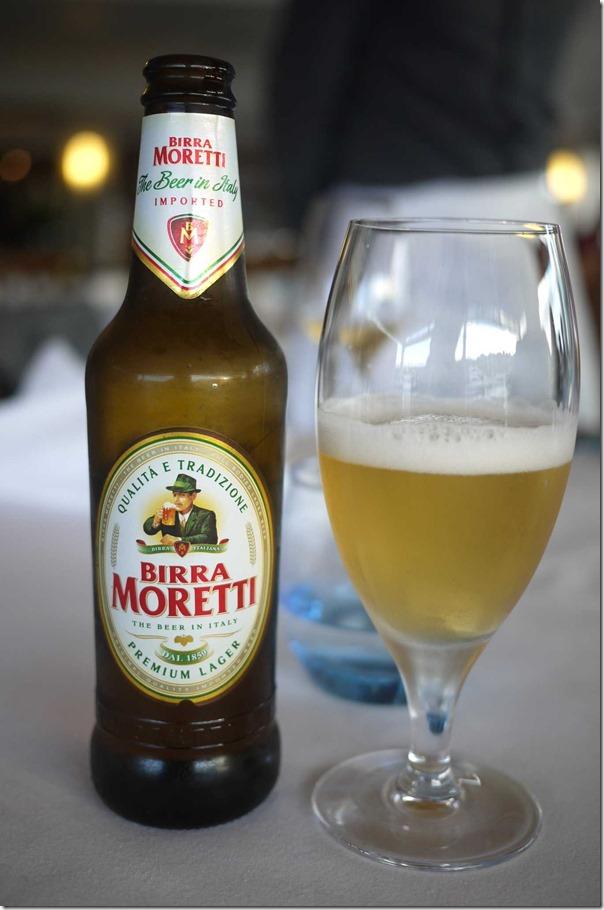 Birra Moretti $10