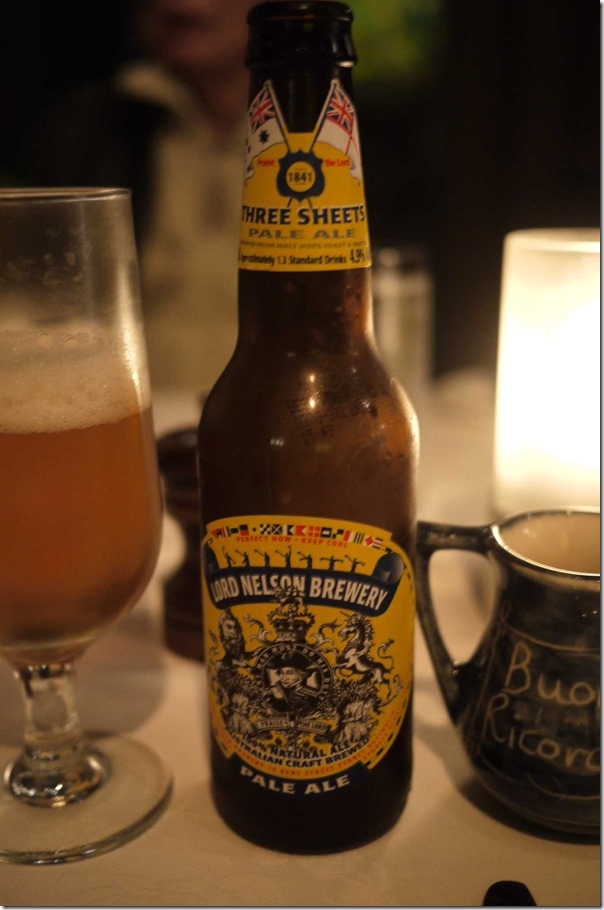 Lord Nelson Pale Ale $8.80