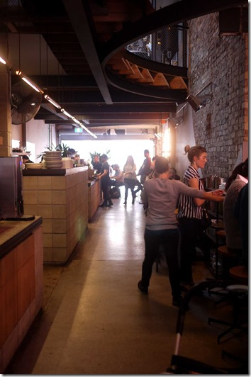 Dining area, Reuben Hills