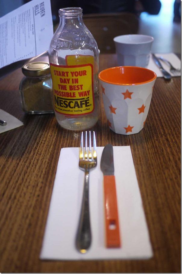 Table setting, Reuben Hills
