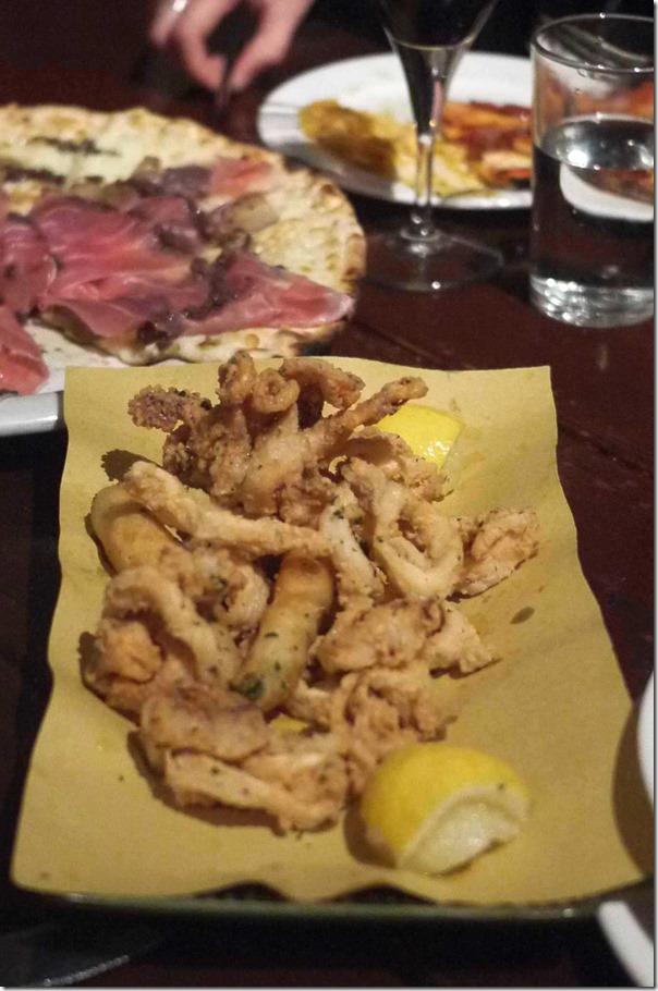 Calamari E Zucchine Fritti $19
