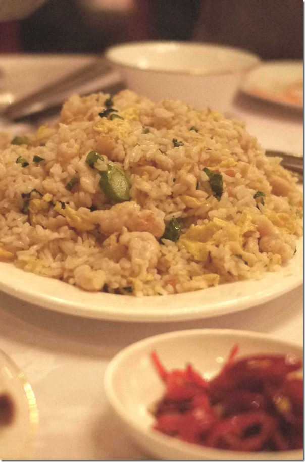 Salted fish and chicken fried rice $$22.80
