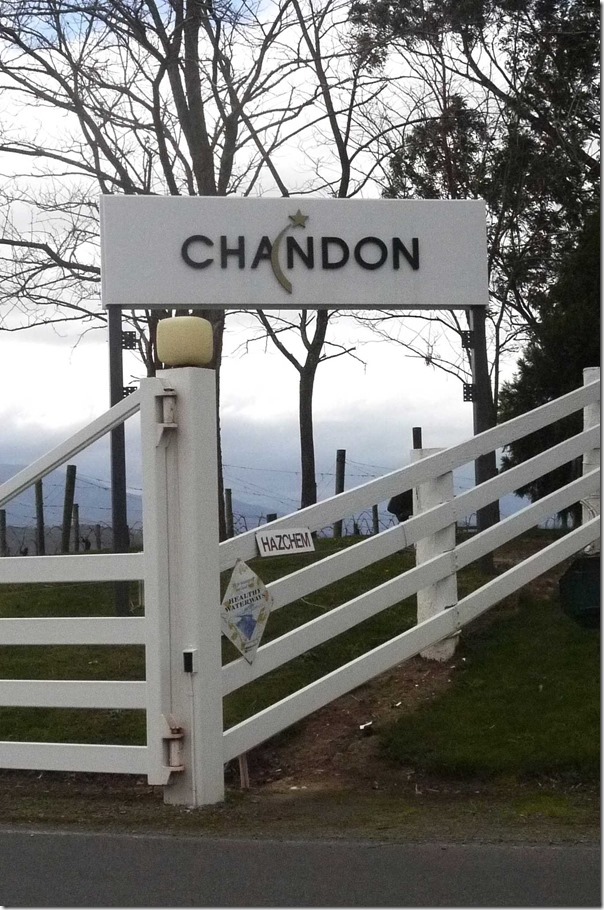 Chandon winery, Yarra Valley