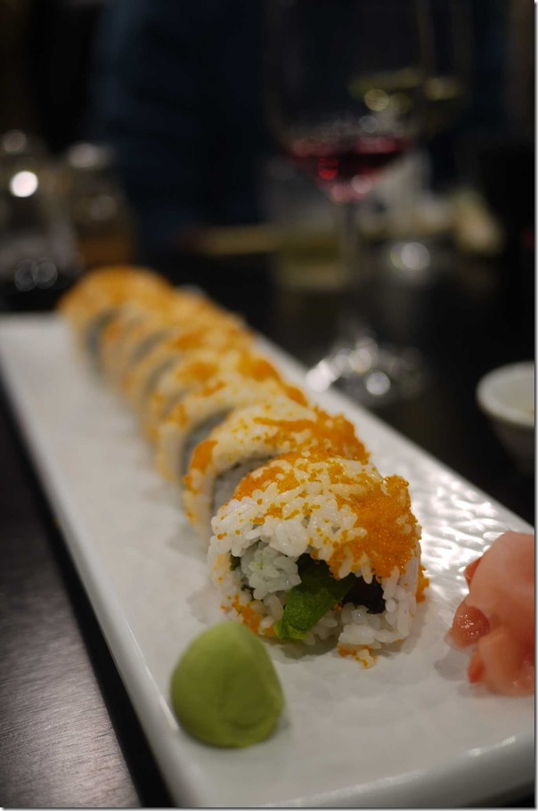 California roll at Tatsuya $12