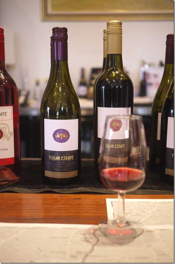 Tasting Tokar Estate Pinot Noir