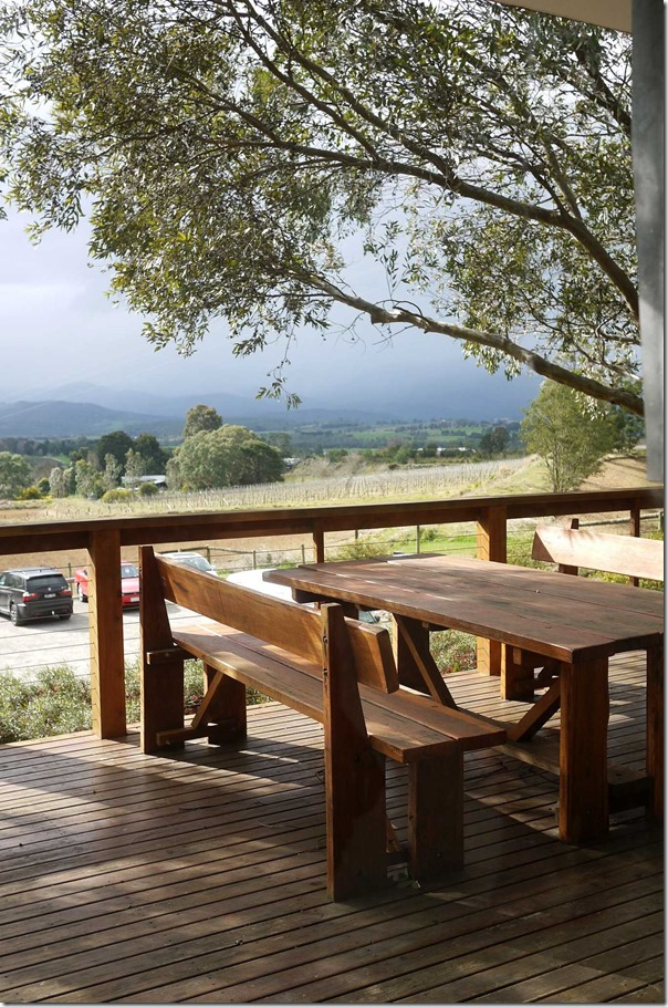 View from Coldstream Hills winery, Yarra Valley