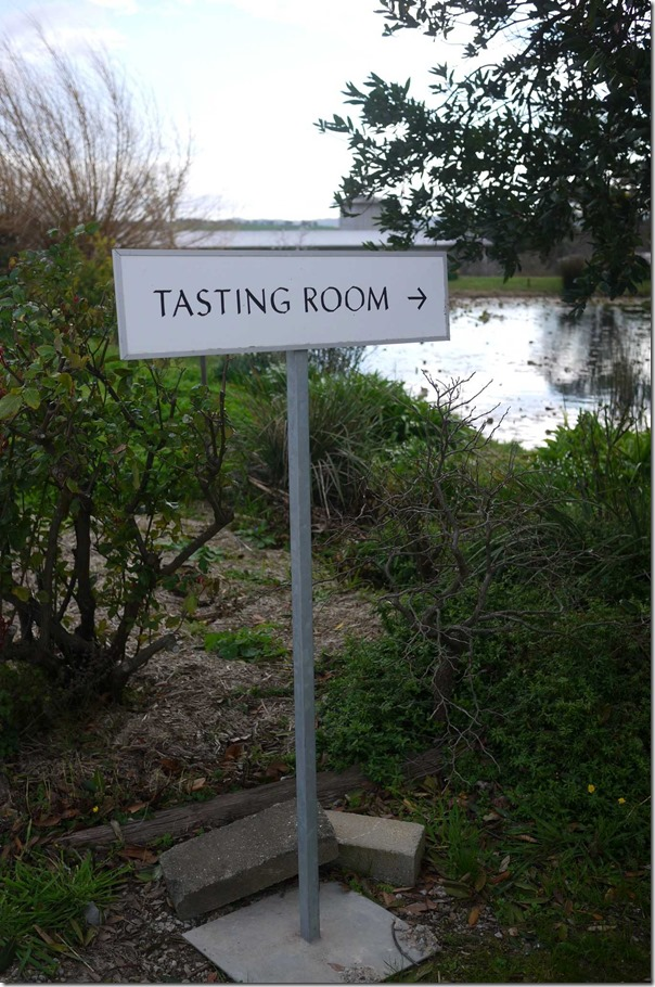 Tasting room at Yarra Yering, Yarra Valley