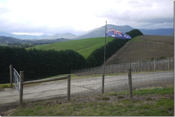 View from Soumah of Yarra Valley