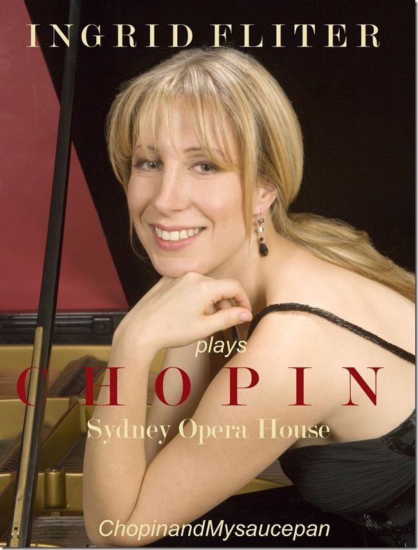 Ingrid Fliter plays Chopin at Sydney Opera House