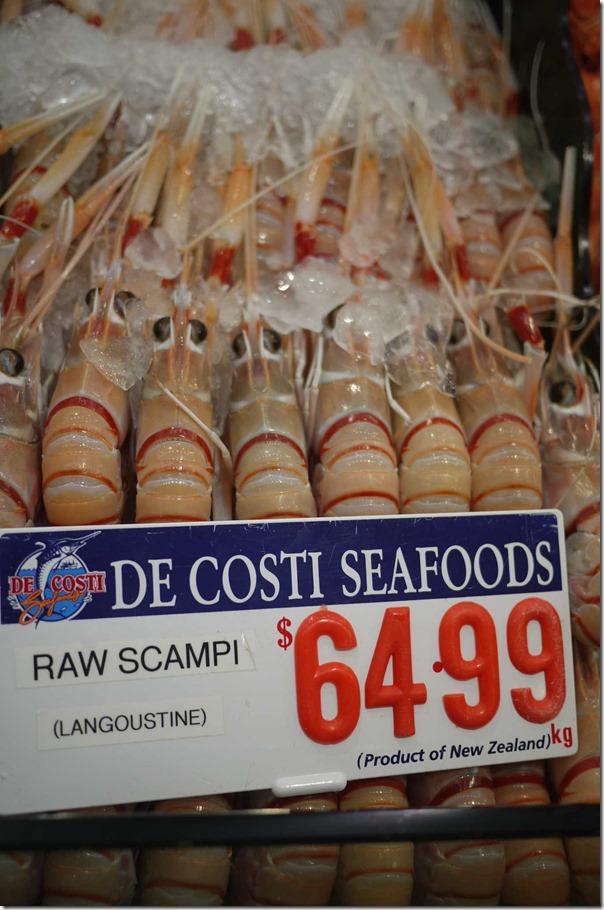 Raw scampi / langoustine $64.99/kg