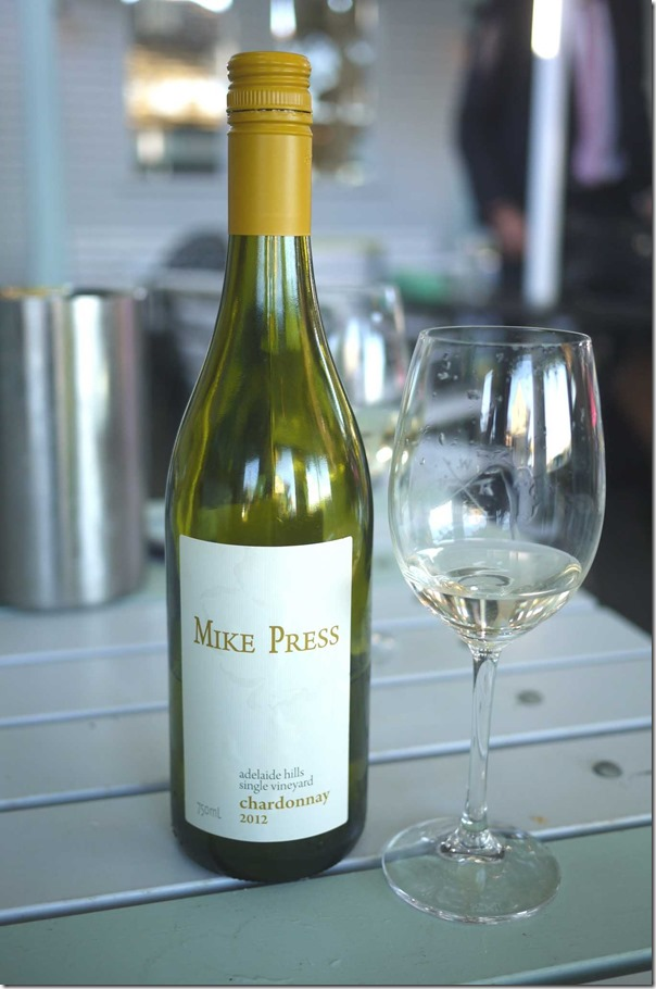 2012 Mike Press Chardonnay $36