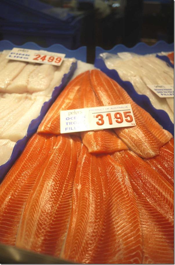 Ocean trout fillet $31.95/kg