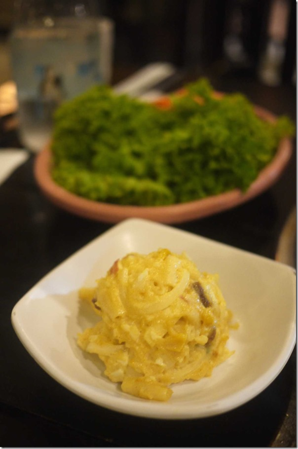 Korean style mashed potato