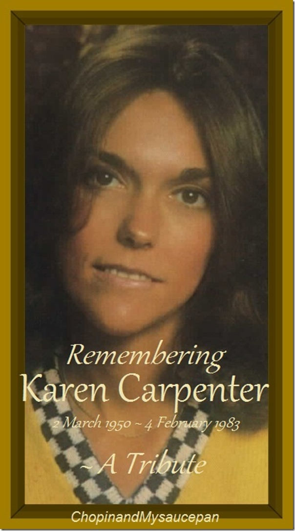 Remebering Karen Carpenter