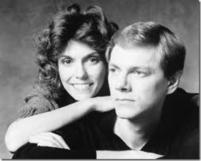 Karen with her brother Richard ~ Carpenters