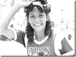 Youthful and happy: Karen Carpenter