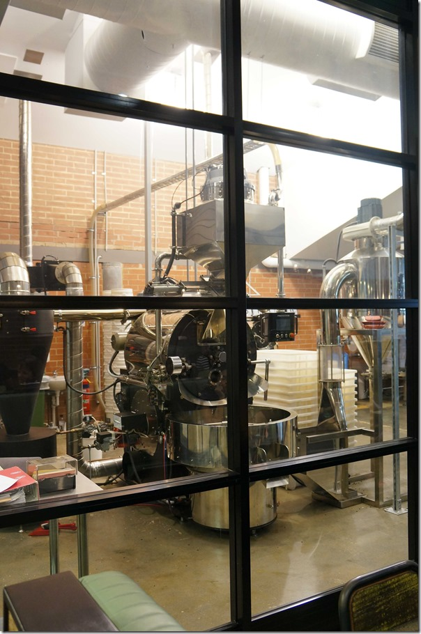 Where it all begins: Coffee roaster