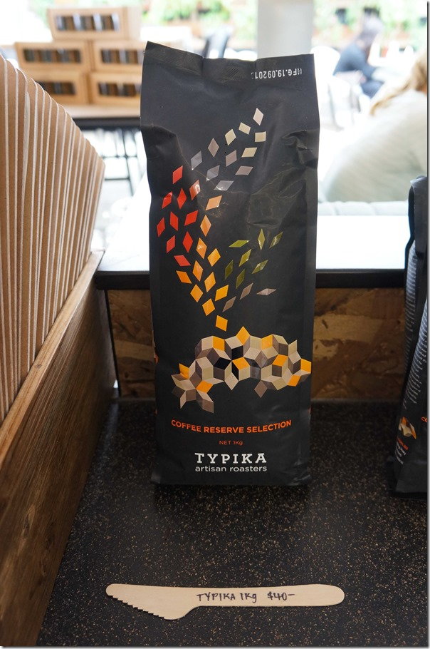 Coffee from Typika Artisan Roasters $40/kg