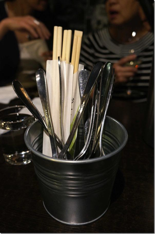 Eating utensils, Khao Pla, Chatswood