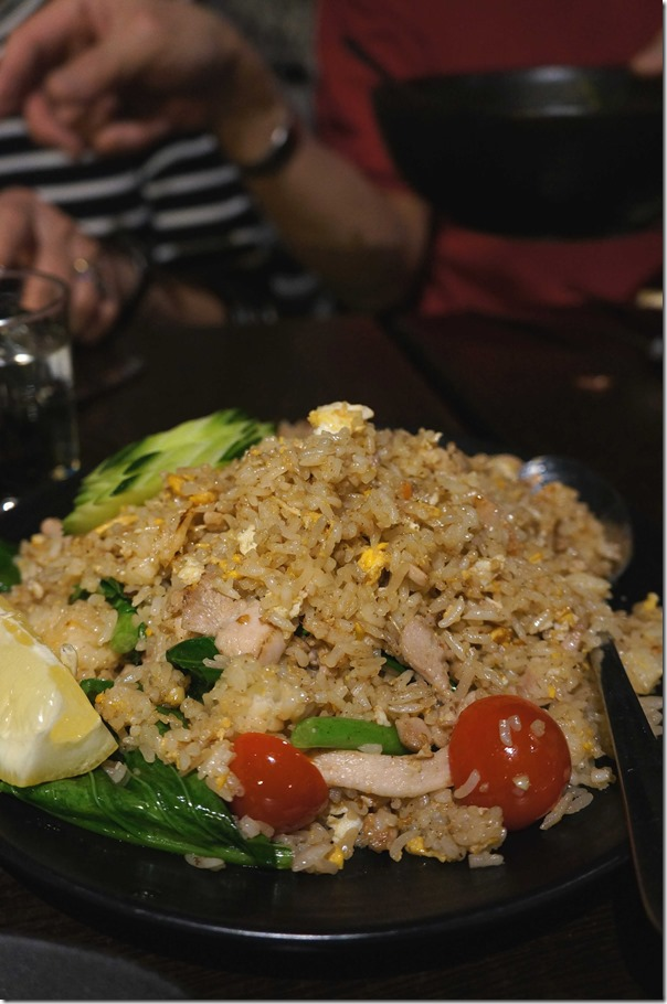 Khao pad or Thai fried rice $12